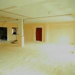 Isolamento termico pareti di tompagno e sottopavimento (dopo)
