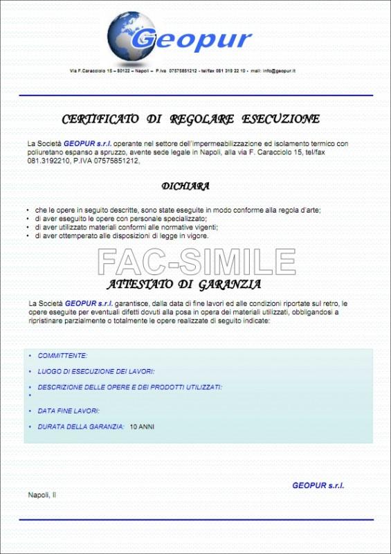 FAC-SIMILE attestato garanzia (2)_001