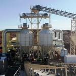 Isolamento silos di raffreddamento aggregati - Namibia - Salini Impregilo Spa