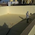 Impermeabilizzazione ed isolamento termico vasche in cls
